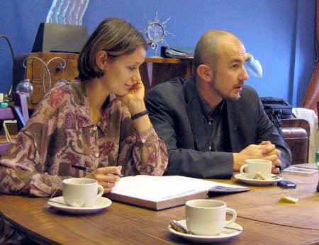 Magdalena Andreew-Siwek i Rafał Siwek
