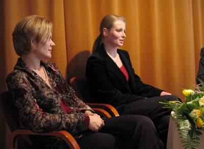 Elżbieta Wróblewska i Anna Marchwińska