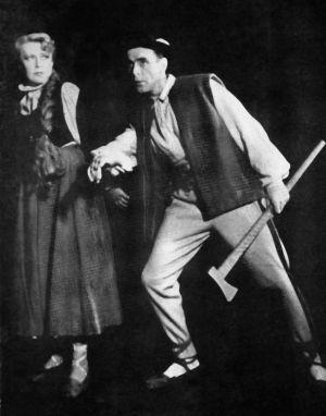 Weronika Kuźmińska i Romuald Spychalski w Halce, 1958