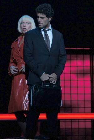 A. Echalaz (Manon),  T. Arancam (Des Grieux) (fot. K. Walkowska)